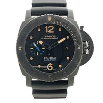 Panerai PAM 00616 Carbon 2018 Luminor Submersible 1950 3 Days Automatic 47mm pre-owned United States of America, Florida, Winter Park