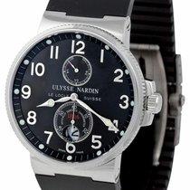 Ulysse Nardin Marine Chronometer 41mm Steel Black