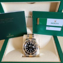 Rolex Sea-Dweller Gold/Steel 43mm Black No numerals United States of America, New Jersey, Woodbridge