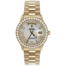 Rolex Day-Date 36 Yellow gold 36mm Roman numerals United States of America, Georgia, Atlanta