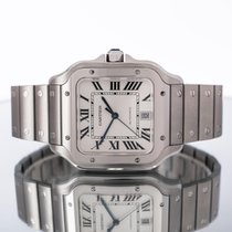 Cartier Santos (submodel) Acier 39.8mm Blanc Romain