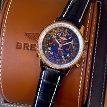 Breitling Navitimer Cosmonaute Rose gold 43mm Black Arabic numerals United States of America, New York, New York