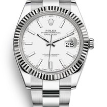 Rolex Datejust II Steel 41mm Silver No numerals United States of America, Pennsylvania, Philadelphia
