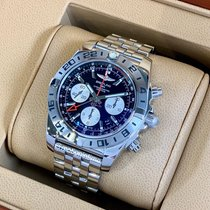 Breitling Chronomat 44 GMT Zeljezo 44mm Crn
