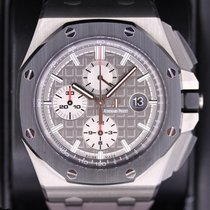 Audemars Piguet 26400IO.OO.A004CA.01 Titanium Royal Oak Offshore Chronograph 44mm pre-owned United States of America, New York, New York