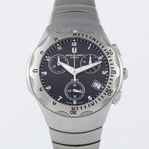 Universal Genève Compax new 2001 Quartz Chronograph Watch with original box and original papers 853830