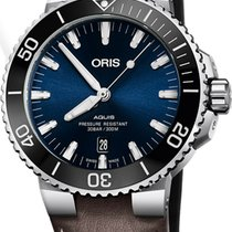 Oris Aquis Date Steel 43.5mm Black United States of America, New Jersey, Cherry Hill