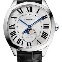Cartier Drive de Cartier Сталь 41mm Белый Римские