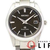 Seiko Grand Seiko Steel 37mm Brown