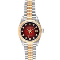 Rolex Lady-Datejust White gold 26mm Red