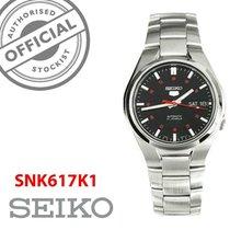 Seiko Stahl 37mm Automatik SNK617K1 neu
