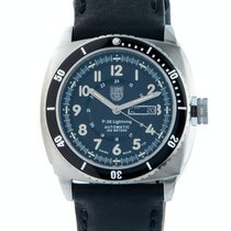 Luminox P-38 Lightning Aço 45mm Preto