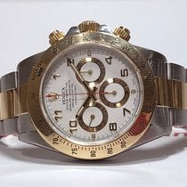 Rolex Daytona Gold/Steel 40mm White Arabic numerals Thailand, BKK/Pattaya