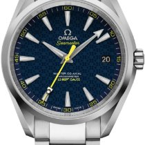 Omega Seamaster Aqua Terra Steel Blue No numerals United States of America, Texas, Houston