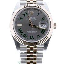 Rolex Datejust II Or/Acier 41mm Gris Romains Belgique, Antwerp