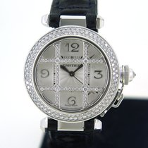 Cartier 2529 Or blanc 2010 Pasha 32mm occasion