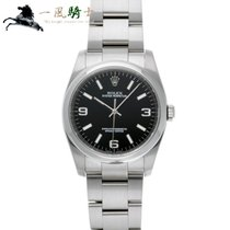 Rolex Oyster Perpetual 36 Acero 36mm Negro