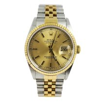 Rolex 16233 Gold/Steel 2000 Datejust 36mm pre-owned United States of America, Florida, Coral Gables
