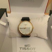 Tissot Gelbgold 33.7mm Quarz TISSOT GOLDRUN HESALITE 18K GOLD T71.3.401.31 New neu