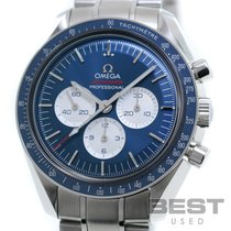 Omega Speedmaster Professional Moonwatch Acier 42mm Bleu