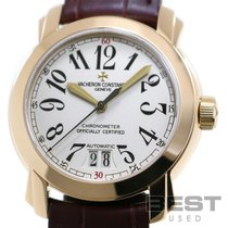 Vacheron Constantin Yellow gold Automatic Silver 38mm pre-owned Malte