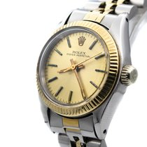 Rolex Oyster Perpetual 26 Gold/Steel Champagne No numerals United States of America, New Jersey, Long Branch
