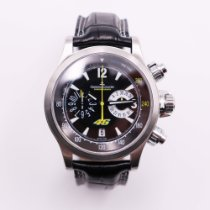 Jaeger-LeCoultre Master Compressor Chronograph Acero 41,5mm Negro Sin cifras