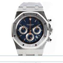 Audemars Piguet Royal Oak Chronograph Acciaio 39mm Blu Senza numeri Italia, Riccione