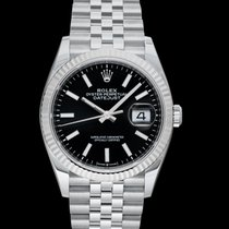 Rolex Lady-Datejust White gold 36mm Black United States of America, California, Burlingame