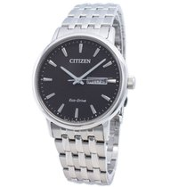 Citizen Steel 37mm Quartz BM9010-59E new