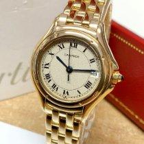Cartier Cougar Or jaune 26mm Argent Romains