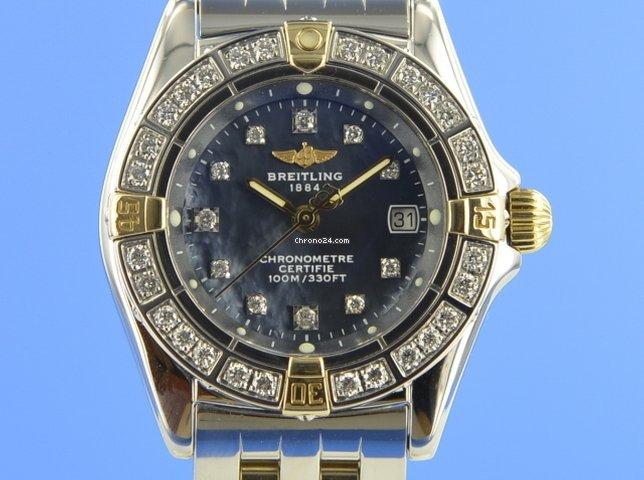 Breitling Callistino B72345 2004 подержанные