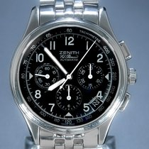 Zenith Steel 38mm Automatic 02.0500.40001 pre-owned