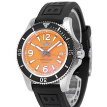 Breitling Steel Automatic Black No numerals 42mm new Superocean 42
