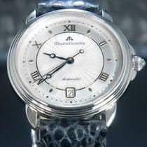 Maurice Lacroix Masterpiece Steel 40mm Silver Roman numerals