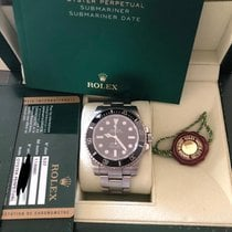 Rolex Submariner (No Date) LIKE NEW-114060 2012 occasion