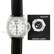 沛納海 Luminor Marina 1950 3 Days Automatic 鋼 44mm 白色 阿拉伯數字 香港, Causeway Bay