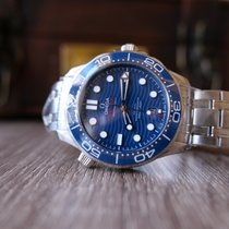 Omega Seamaster Diver 300 M Steel 42mm Blue No numerals United States of America, California, Sunnyvale