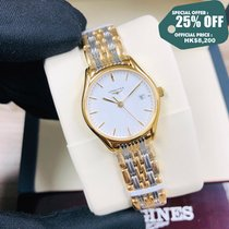 Longines Lyre Steel 25mm White