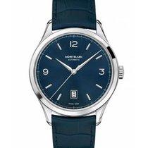 Montblanc Heritage Chronométrie Stål 40mm Blå
