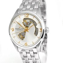 Hamilton Jazzmaster Open Heart Steel 42mm Silver