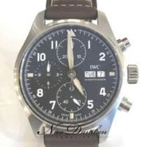 IWC Pilot Spitfire Chronograph Steel 41mm Black