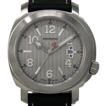 Anonimo Millemetri Steel 43mm Silver United States of America, Florida, Miami