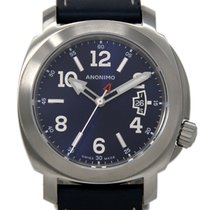 Anonimo Millemetri Steel 43mm Blue United States of America, Florida, Miami