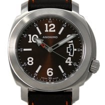 Anonimo Millemetri Steel 43mm Brown United States of America, Florida, Miami