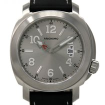 Anonimo Steel Automatic Silver 43mm new Millemetri