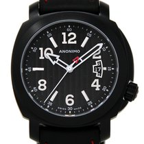 Anonimo Millemetri Steel 43mm Black United States of America, Florida, Miami