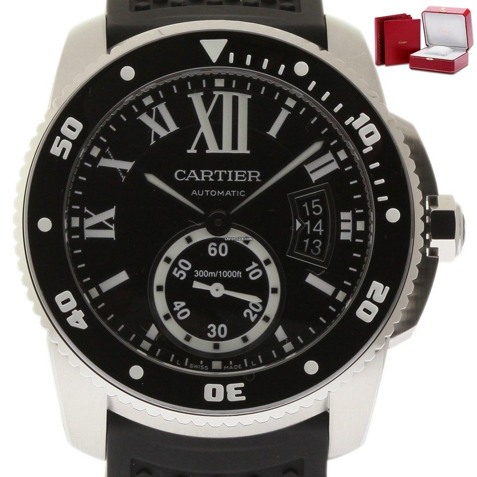 Cartier Calibre de Cartier Diver W7100056 2018 new