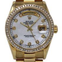 Rolex Day-Date 18048 Bra Gulguld 36mm Automatisk