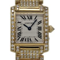 Cartier Tank Française W50002N2 2010 pre-owned